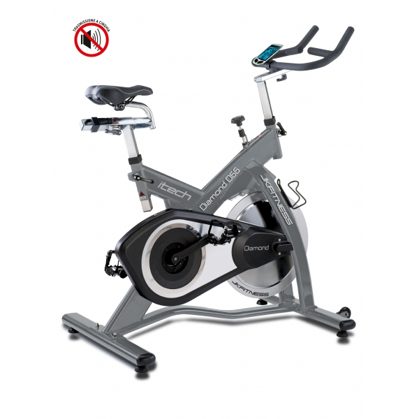 Gym bike  DIAMOND  D55 con fascia cardiaca
