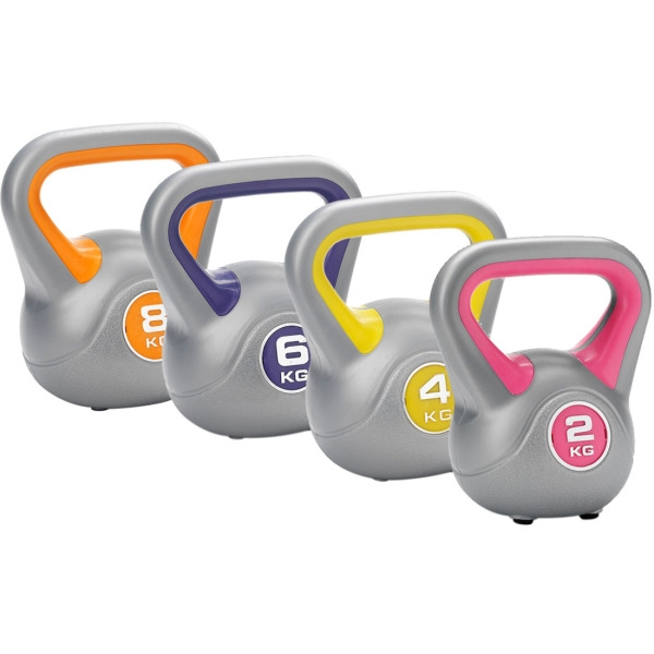 Functional Training  DKN  Kettlebell set da 2, 4, 6, 8 Kg