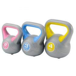 Functional Training DKN Kettlebell set con 2, 3, 4 Kg