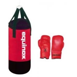Sacchi BoxeEQUINOXSet boxe junior da 3 Kg con guanti da 4oz