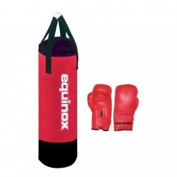 Sacchi BoxeEQUINOXSet boxe junior pro da 6 Kg con guanti da 6oz