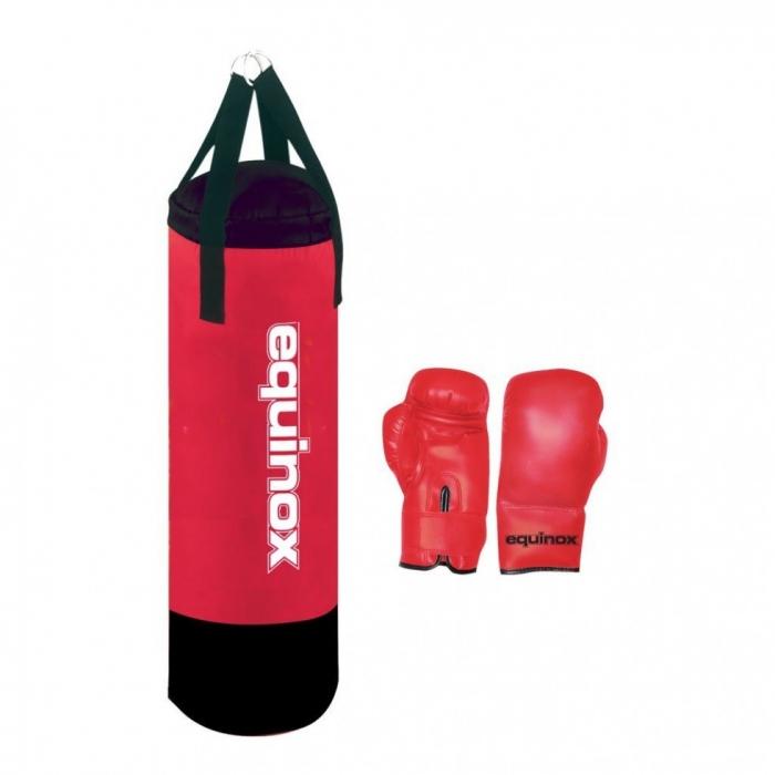 Sacchi Boxe  EQUINOX  Set boxe junior pro da 6 Kg con guanti da 6oz