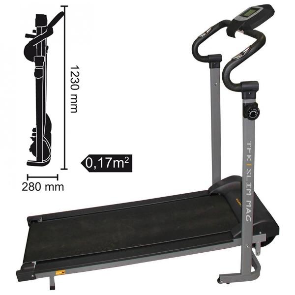 Tapis roulant Magnetici  EVERFIT  TFK-Slim Mag  (invio gratuito)