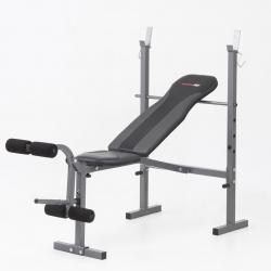 PancheEVERFITWBK 500 con porta bilanciere e leg extension