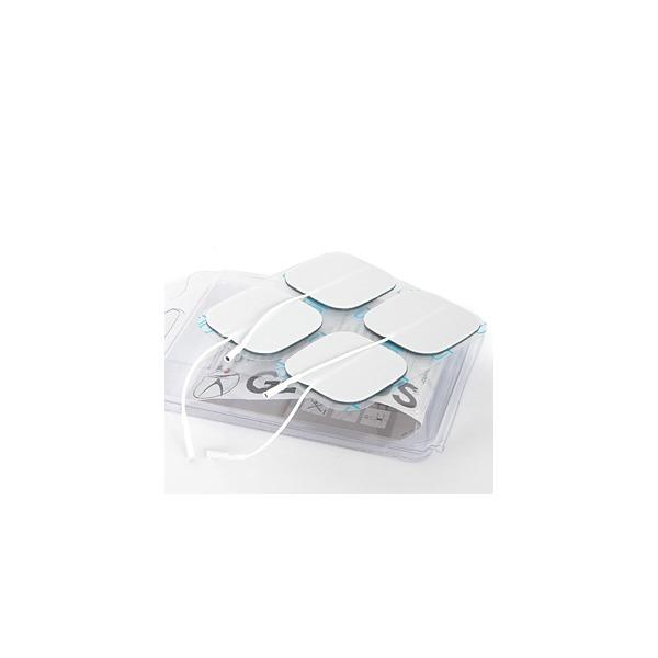 Elettrodi  GLOBUS  4 Elettrodi Myotrode Platinum 50x50 mm a cavetto