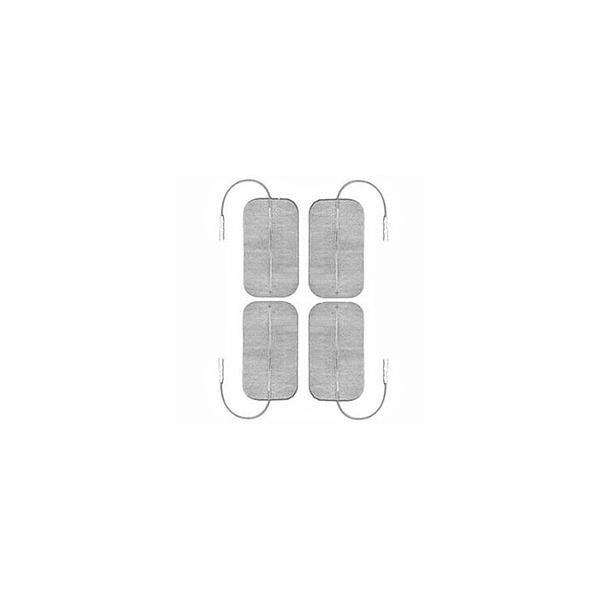 Elettrodi  GLOBUS  4 Elettrodi Myotrode Platinum 50x90 mm a cavetto