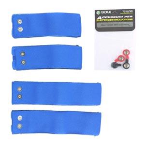 Elettrodi  GLOBUS  Kit 4 fasce elastiche conduttive per cosce