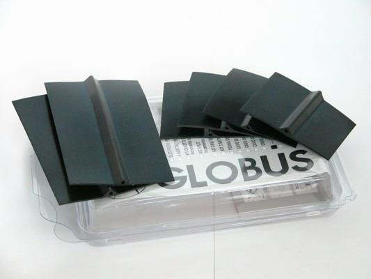 Elettrodi  GLOBUS  6 elettrodi in silicone conduttivo a cavetto