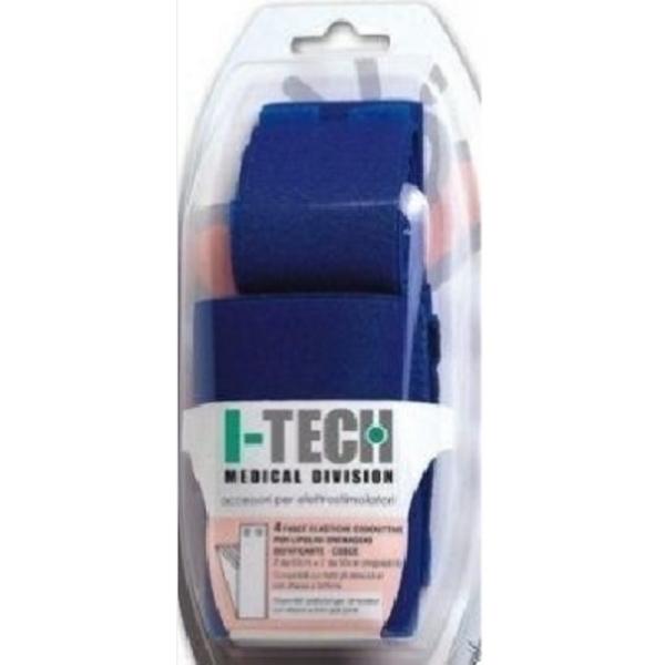 Elettrodi  I-TECH  Kit 4 Fasce Conduttive per polpacci