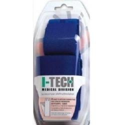 ElettrodiI-TECHKit 4 Fasce Conduttive per polpacci