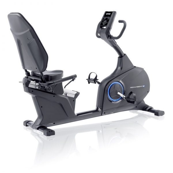 Cyclette  KETTLER  Recumbent S + fascia cardio + World Tours 2.0