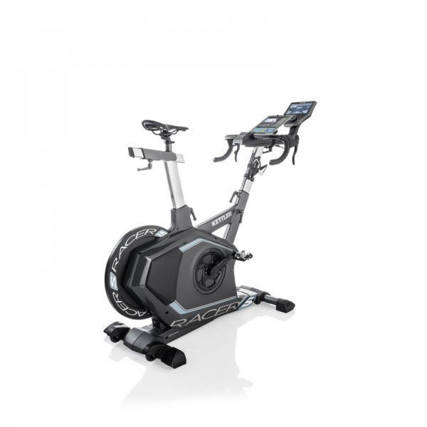 Gym bike  KETTLER  Racer S con fascia cardio e World Tour 2.0 Up-grade