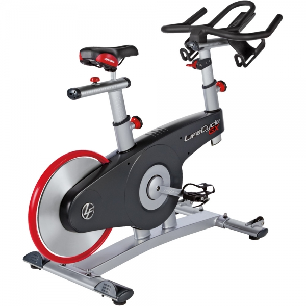 Gym bike  Life Fitness  Lifecycle GX con console