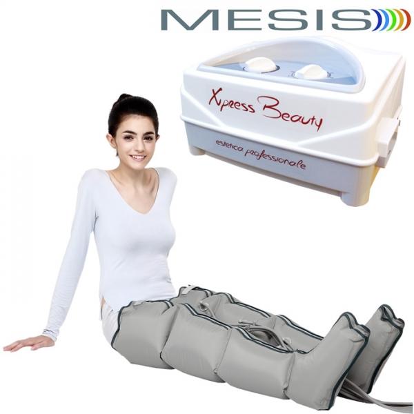 Pressoterapia  Mesis  Xpress Beauty con 2 gambali
