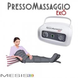 PressoterapiaMESISPressoMassaggio Ekò con 2 gambali e Kit slim body