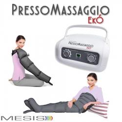 PressoterapiaMESISPressoMassaggio Ekò con 2 gambali e Kit slim body e bracciale IN PROMOZIONE