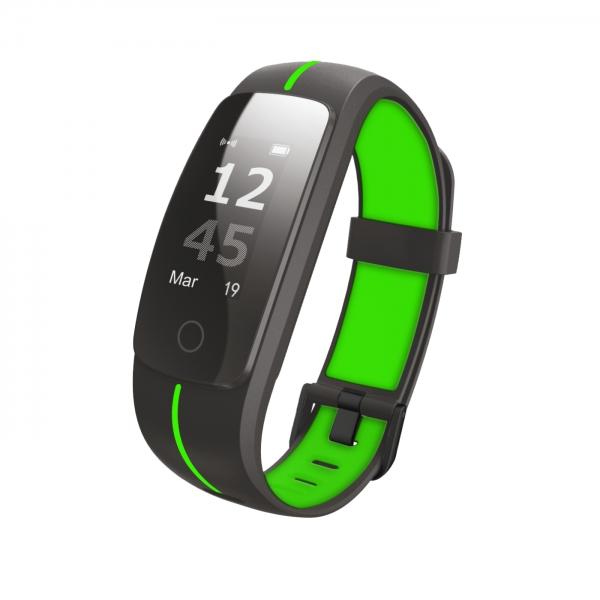 Braccialetti Fitness  TECHMADE  T-Fit 2.0 Nero/Verde