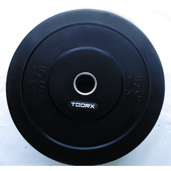 Pesi a disco  TOORX  Disco Bumper Training Absolute 10 Kg