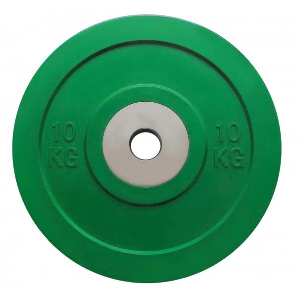 Pesi a disco  TOORX  Coppia Dischi Bumper Competition 10 Kg