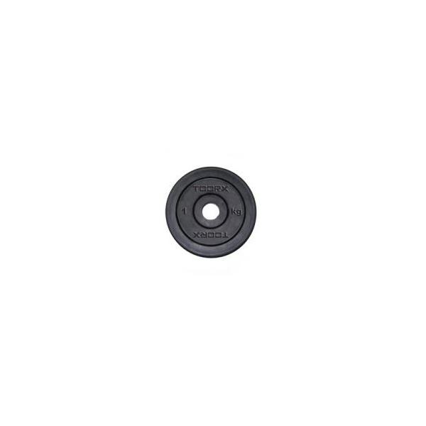 Pesi a disco  TOORX  Coppia Dischi Ghisa gommato 1 Kg