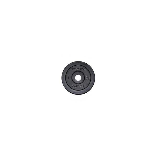 Pesi a disco  TOORX  Disco ghisa gommato 10 Kg