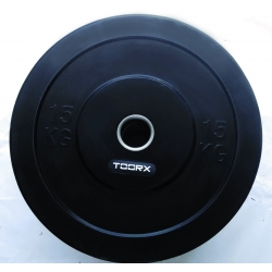 Pesi a disco TOORX Disco Bumper Training Absolute 15 Kg
